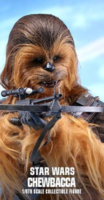 Star Wars: The Force Awakens - Chewbacca 1/6th scale Collectible Figure