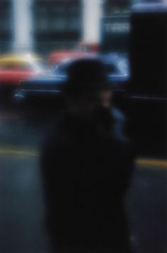 SAUL LEITER, STREET SCENE 1958: no formal training in photography, started shooting street photography in new york in the 1940s.