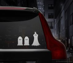 Batman Family Car Decal Set - ThinkGeek $11.99