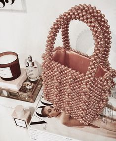 Image about fashion in bags by 𝐒 on We Heart It My Bags, Purses And Bags, Handpoked Tattoo, Jewelry Accessories, Fashion Accessories, Trendy Accessories, Sacs Design, Style Personnel, Beaded Bags