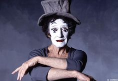 Marcel Marceau broke the silence of the theater with the voice of the soul.  Rest in peace, mon amie!