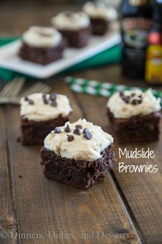 Mudslide Brownies