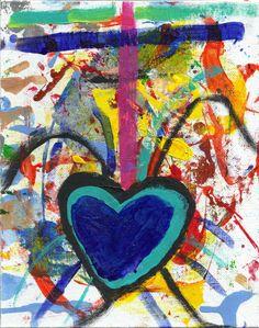 Sloppy Heart No 3 by josephhkyle on Etsy, $20.00
