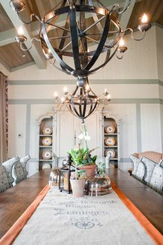 Family Retreat traditional dining room