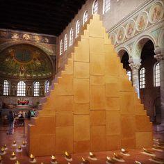 Living Ravenna: Inaugurata l'installazione di Wolfgang Laib in Sant'Apollinare in Classe