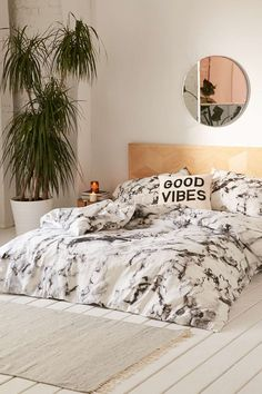 Marble duvet cover from urban outfitters