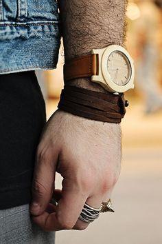 Elemento Watches : Orologio Da Polso Con Cassa In Legno By Guy Overboard