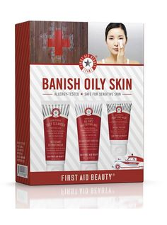 Fotia.is First Aid Beauty - THE BANISH OILY SKIN KIT  http://www.fotia.is/collections/first-aid-beauty/products/the-banish-oil-kit