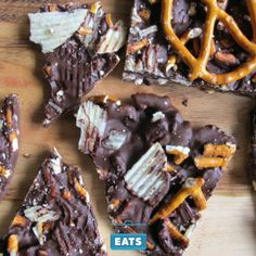 Chocolate bark is a holiday classic that's both easy and impressive.