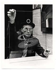 Citation: Marcel Duchamp, ca. 1960 / unidentified photographer. Miscellaneous photographs collection, Archives of American Art, Smithsonian Institution.