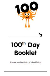 100th day activities for third grade, finally!