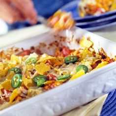 Like nachos with all the fixings? Make this quick casserole recipe of the best Southwestern flavors.