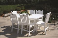 Recycled Poly Outdoor Dining Chair from Eco Friendly Digs Outdoor Dining Chairs, Outdoor Furniture Sets, Outdoor Decor, Traditional Chairs, Backyard Patio, Porches, Eco Friendly, Recycling, Building