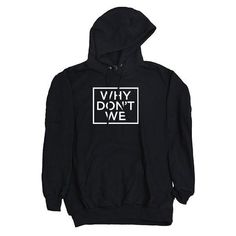 cb6d73e57c8d9c Why Don t We Unisex Hoodie ( 47) ❤ liked on Polyvore featuring tops