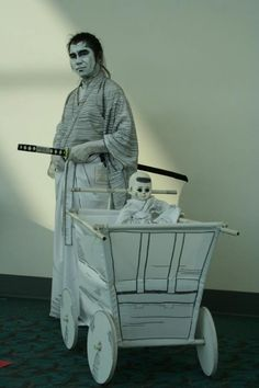 Itto Ogami (Lone Wolf and Cub), cosplayed by Jinyo, photographed by Griffin Wright