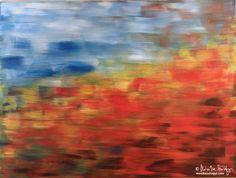 October flow – acrylic painting by Monika Szilagyi Fine Art Photography, Flow, Artworks, October, Artist, Painting, Design, Decor, Decoration