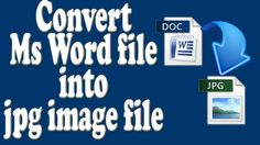 convert your doc file into jpg format online | tip by take lecture in ur...