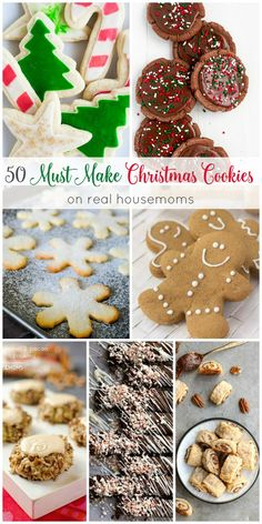 Its time to start baking for our annual Christmas cookies plates! Im getting lots of inspiration from these 50 MUST MAKE CHRISTMAS COOKIES! christmas recipes for parties Christmas Cookie Exchange, Best Christmas Cookies, Christmas Snacks, Xmas Food, Christmas Cooking, Yummy Cookies, Holiday Cookies, Holiday Baking, Christmas Desserts