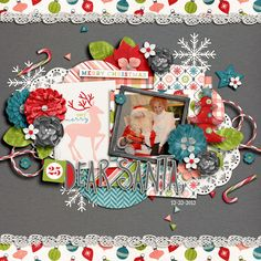 Layout using {Happiness Is: Holiday Traditions} Digital Scrapbook Collection by Meghan Mullens and Tickled Pink Studio available at Sweet Shoppe Designs http://www.sweetshoppedesigns.com/sweetshoppe/product.php?productid=32769&page=1 #wilddandeliondesigns