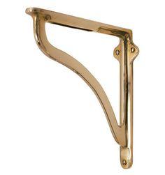 solid x bracket brass design shelf scroll wall brackets