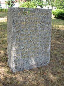 Pomník Obětem leteckého výcviku na obranu vlasti   Spolek pro vojenská pietní místa
