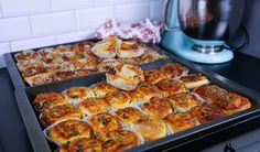 Pizzabullar- Mjuka och goda
