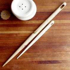 Giant Wooden Needle  16 Inch Wooden Needle  by coldcreekbrewing, $16.00