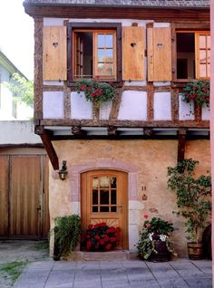 Timber Framed House Alsace, France