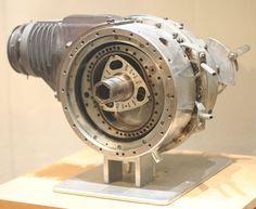 First DKM Wankel Engine DKM 54 (Drehkolbenmotor), at the Deutsches Museum in Bonn, Germany