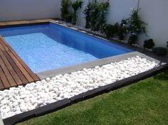 Resultado de imagen para piscinas com calçada