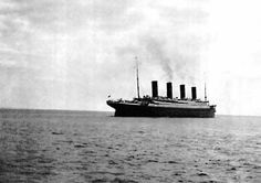 The Last Photo of Titanic  Taken From the Shore of Ireland