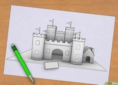 Imagen titulada Make a Model Castle Step 2
