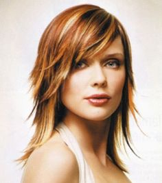 Beautiful Layered Shag Hairstyles for Older Women