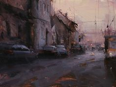 BoldBrush Painting Competition Winner - January 2014 | The Urban Flow by Tibor Nagy