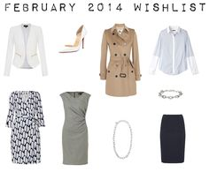 outfit post: february 2014 shopping wishlist AND how to make a shopping plan