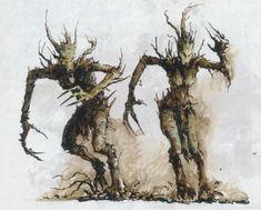 The Elder Scrolls, Fantasy Battle, Fantasy Races, Plant Monster, Flame Princess, Fantasy Monster, Warhammer Fantasy, Thunder, Old World