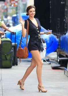 Miranda Kerr street style.