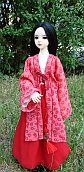 free sewing patterns for barbie dolls from popular movies like Pirates of the Carribian, Star Wars, Firefly...  Hanfu -  chinese traditional dress for MSD BJD