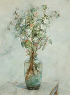 ❀ Blooming Brushwork ❀ garden and still life flower paintings - Bogman Hermanus, Adrianus