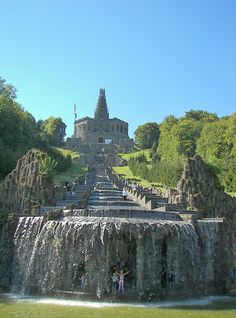 Schlosspark Wilhelmshöhe, Kassel, Germany