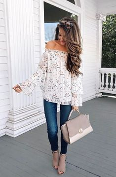 Love the top shoes and bag!