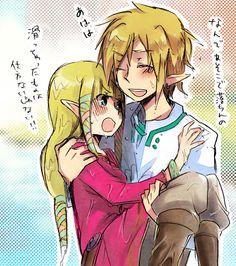 Another Zelda princess holding after http://pinterest.com/pin/52917364344633385/