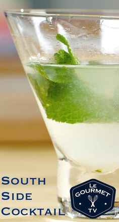 This is sometimes called the 'Gin Mojito' - as with most Gin cocktails we prefer a stir over a shake. Cocktail Videos, Cocktail Recipes, Cocktails, Alcoholic Drinks, Beverages, Mojito, Gin, Glass Of Milk, Food