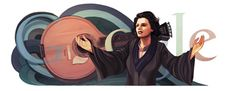 Amália Rodrigues' Birthday год со дня рождения Амалии Родригиш] /This doodle was shown: /Countries, in which doodle was shown: Portugal Les Doodle, Google Doodles, Famous Artists, Art Google, Birthday, Fun, Countries, Illustrations, Reading