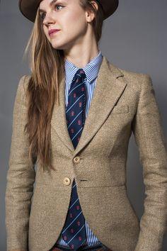 tweed riding jacket by ralph lauren | Articles of Stye