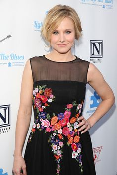 Kristen Bell attends the 2nd Light Up The Blues Concert - An Evening Of Music To Benefit Autism Speaks at The Theatre At Ace Hotel on April 5, 2014 in Los Angeles, California