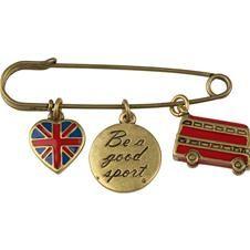 British brooch by Cath Kidston