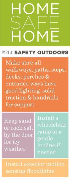 Home Safe Home: Pt. 4 Outdoor Safety #caregiving #hospice