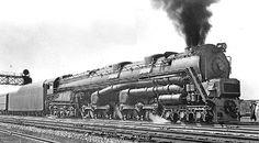 Cool looking steam turbine locomotive