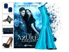 """Book Look: The Azure Kingdom By Michelle Dare"" by xmikky ❤ liked on Polyvore featuring Kate Spade, NOVICA and Christian Louboutin"